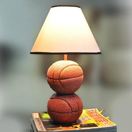 Resin Cute Basketball Style Table Lamp