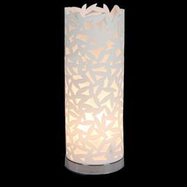 Tempting Floral Metal Acrylic Shade 1 Light Lamp