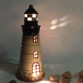 Fancy Mediterranean Lighthouse Style Table Lamp