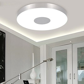 Pretty Wonderful Round Shape Electroplated Finish LED Flush Mount