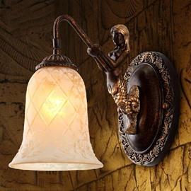 Fantastic European Style Little Mermaid 1-Head Wall Light