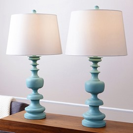 Blue Creative Resin Table Lamp for Home Decoration