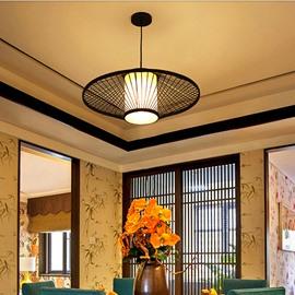 Black Creative Birdcage Decorative Ceiling Light