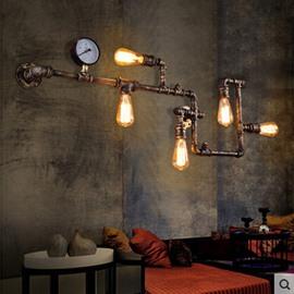 5 Bulbs Water Pipe Shape European Style Wall Light
