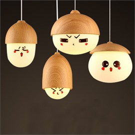Very Cute Expression Pattern 4 Lights Ceiling Lights