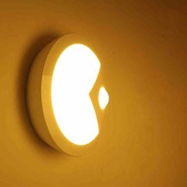 Modern Design Round Body Induction LED Night Light