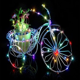 Colorful 32 Feet 100 Bulbs Home Decorative LED String Light