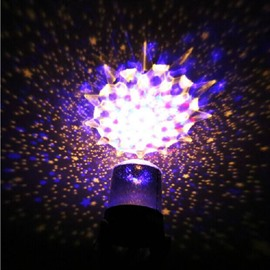 Dreamy Modern Design Starry Sky Pattern Battery Projection Decorative LED Lights
