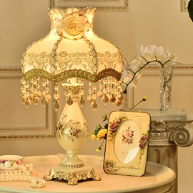 64 Elegant Resin European Style Princess Decorative Table Lamp