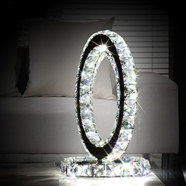 Luxury Crystal Ferris Wheel Shape LED Home Decorative Table lamp