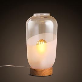 Decorative Special Design Glasses Design Durable Table Lamp