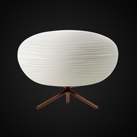 White European Style Oval Shape Design Room Decoration Table Lamp