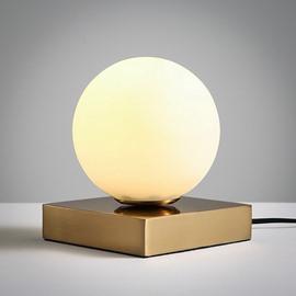Warm Creative Design Glasses Ball Shape Decorative Table Lamp