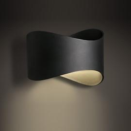 Pipelined Design Hardware Modern Black 1-Head Wall Light