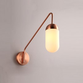 Golden Basis Hardware Modern Simple 1-Head Wall Light