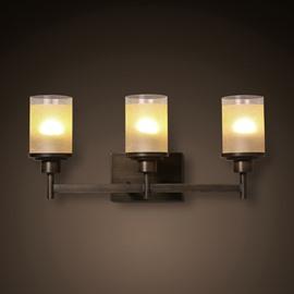 Modern Design Hardware Simple 3-Head Decorative Wall Light