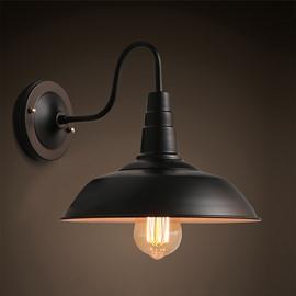 Minimalist Style Hardware 1-Head Decorative Wall Light