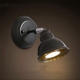 Elegant Simple Style Hardware 1-Head Decorative Wall Light