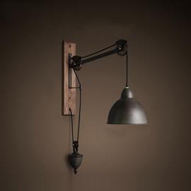 Bell Shape Hardware Class 1-Head Decorative Wall Light