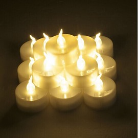 12 PCS Flameless LED Light Candles Battery Operated Christmas Decoration
