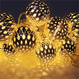 Modern and Elegant Style Moroccan Ball Shape Design 1.5Meter Strip LED Lights