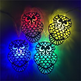 Creative and Elegant Style Owl Shape Design 1.5Meter Strip LED Lights