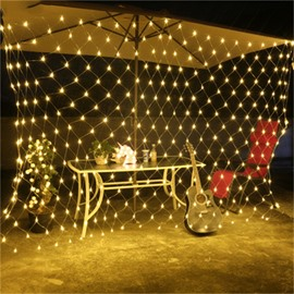 Fishing Net Waterproof Christmas Decoration Plastic LED Lights