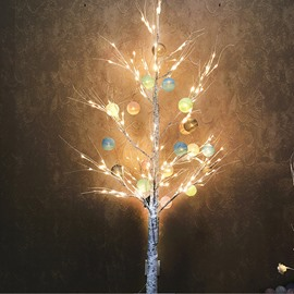 Silver Birch Christmas 24V PVC Nordic Style LED Lights