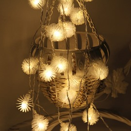 Dandelion Romantic Battery PVC Holiday Decoration LED Lights