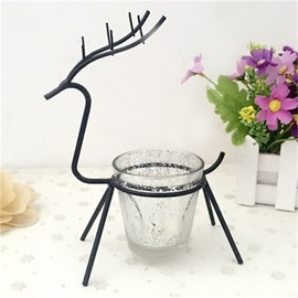 Elk European Style Iron Manual Technics Candles Holder