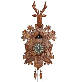 New Style Amazing Creative Dear Cuckoo Wall Clock