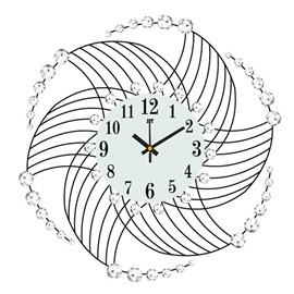 Creative Pattern Design European Style Stopwatch Movement Wall Clock
