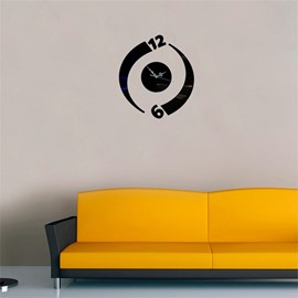 Figure 3 Color Simple Design 3D Acrylic DIY Specular Mute Wall Clock