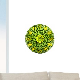 Unique Finger Shaped 3D Decoration Wall Clock with Removable Sticker