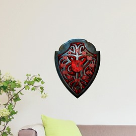 3D Creative Decoration Peel and Stick Wall Clock