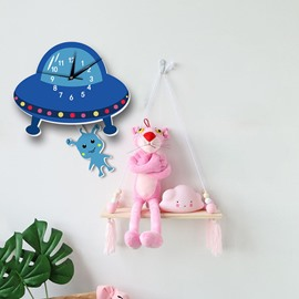Kids Room Clock Non Ticking Silent Decorative Wall Clock