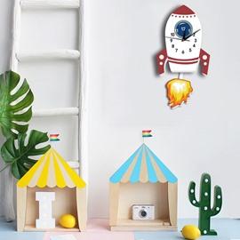 Quiet Non Ticking Kids Room Decorative Wall Clock