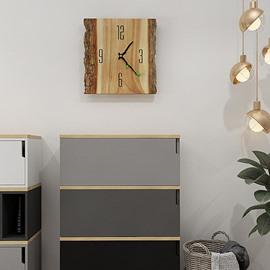 12 inch Rustic Wall Clock Handmade Real Wood Clock Beautiful Decorative Wall Clock Wall Clock Wooden Clock Rustic Clock