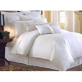 Top Class Pure White 4-Piece 100% Cotton Duvet Cover Sets