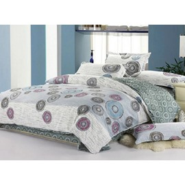 Creative Drawing 4-Piece Cotton Duvet Cover Sets