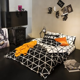 Fashion Simple Style Cotton Bedding Sets