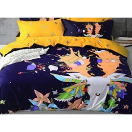 Fancy Colourful Deer 4-Piece Duvet Cover Sets