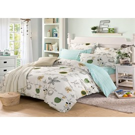 Fresh And Clear Style In 4-Piece Bedding Sets