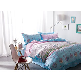 New Arrival Fantastic Scarecrow Cotton 4-Piece Duvet Cover