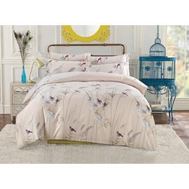 Charming Rural Style 4-Piece Cotton Duvet Cover Bedding Sets