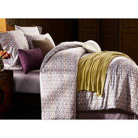 Concise and Modern 4-Piece Cotton Duvet Cover Sets