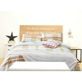 Modern Plaid Reactive Printing 4pcs Cotton Duvet Cover Sets