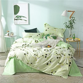 Beddinginn Four-Piece Set Duvet Cover Set Hand Wash Reactive Printing Cotton Bedding Sets
