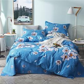 Beddinginn Duvet Cover Set Machine Wash Quilting Seam Four-Piece Set Cotton Bedding Sets