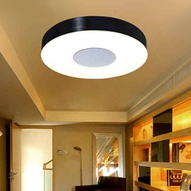 Contemporary Alloy Round Shape 1 Head LED Flush Mount
